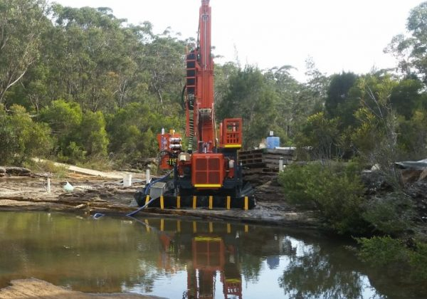 HANJIN 8D - Drilling Contractor Newcastle & Hunter Valley - Total Drilling